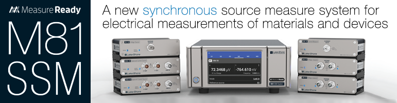 The new M81-SSM synchronous source measure system