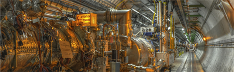 particle accelerator tunnel